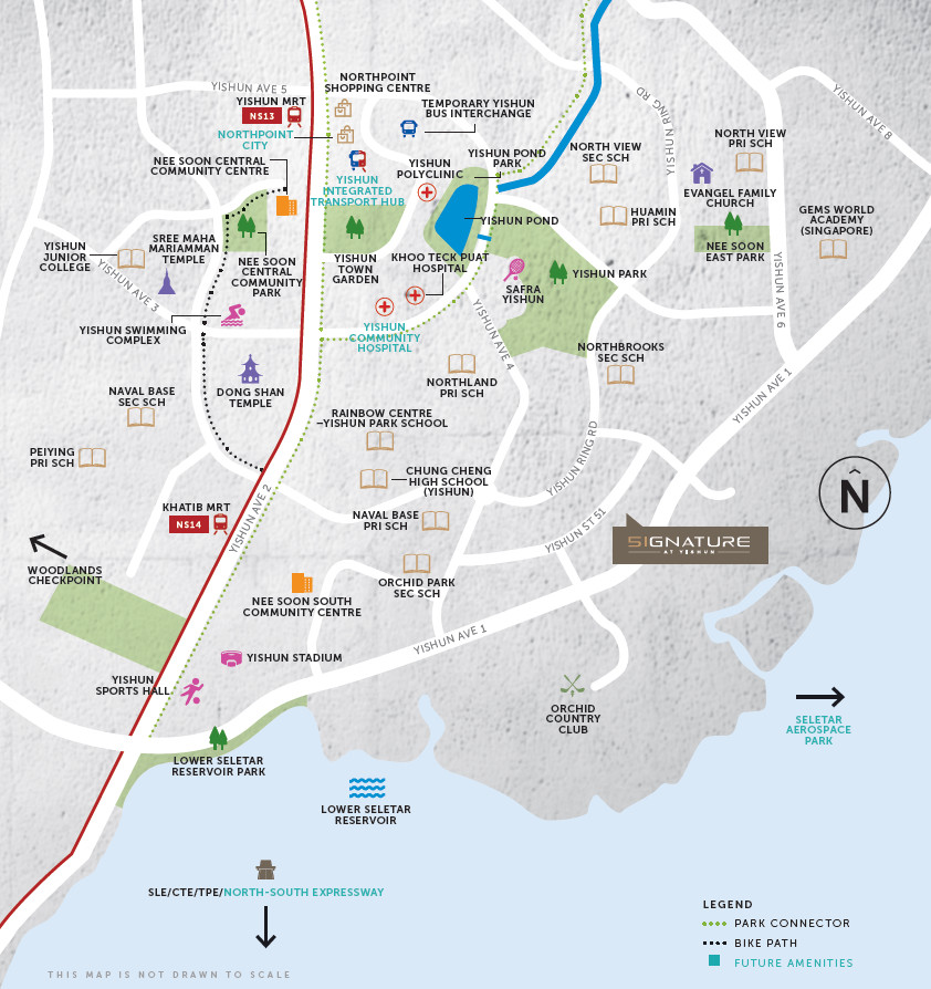 Signature EC Location | Signature Yishun Location