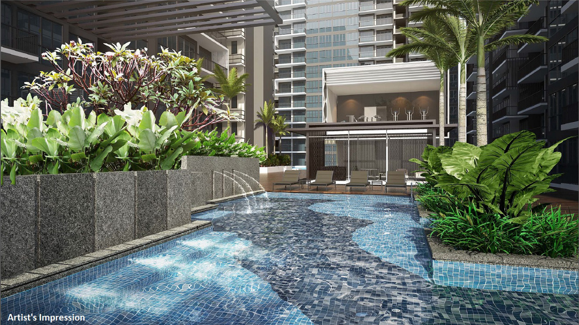Signature at Yishun :: Spa Pool